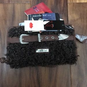 Brown wallet new with tags